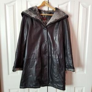 Danier Leather Duffle Coat
